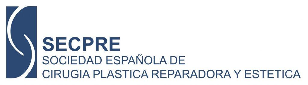 Logo SECPRE Sociedad Española de Cirugía Plástica Reparadora y Estética